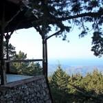 Veranda der Villa de Vecchi - Lost Place auf Rhodos