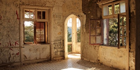 Ein Lost Place auf Rhodos, die Villa de Vecchi