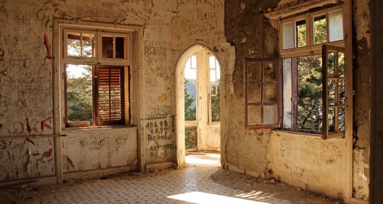 Ein Lost Place auf Rhodos, die Villa de Vecchi
