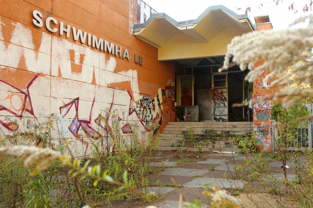 Eingang zum Lost Place in Berlin