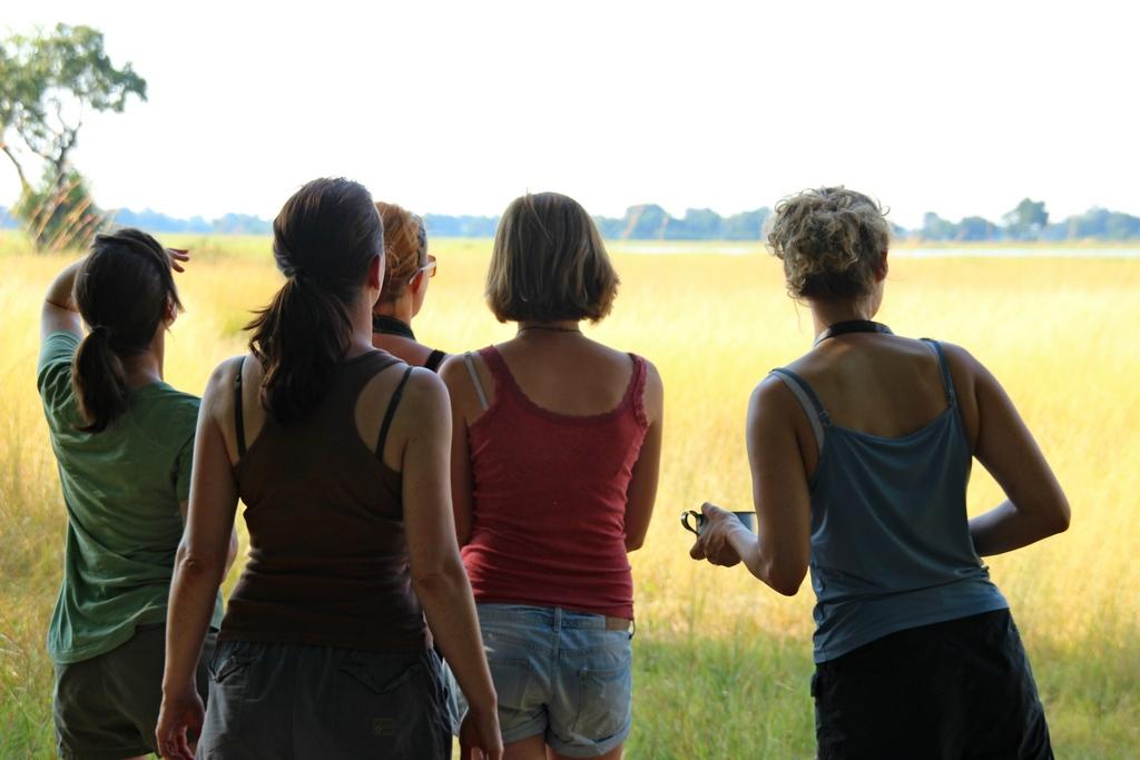 Mädels auf der Safari im Okavango Delta