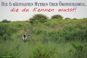 5 Mythen über Ökotourismus