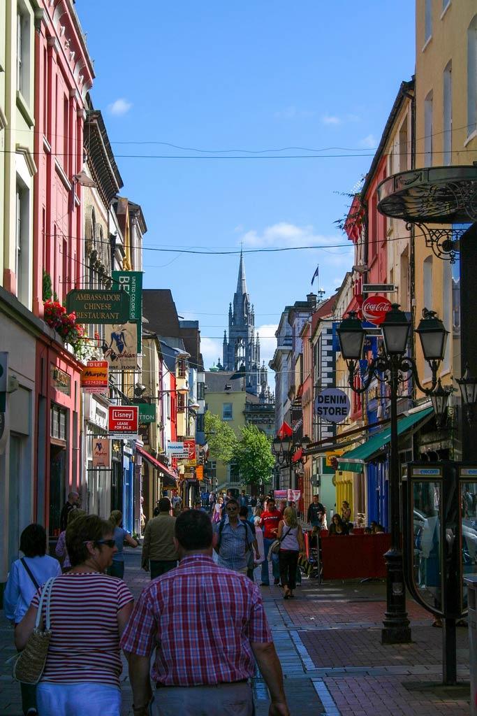 Gassen in der Altstadt von Cork auf dem Roadtrip in Irland