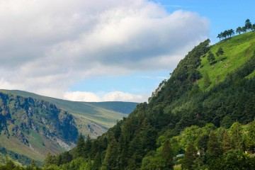Roadtrip in Irland - Wicklow Mountains