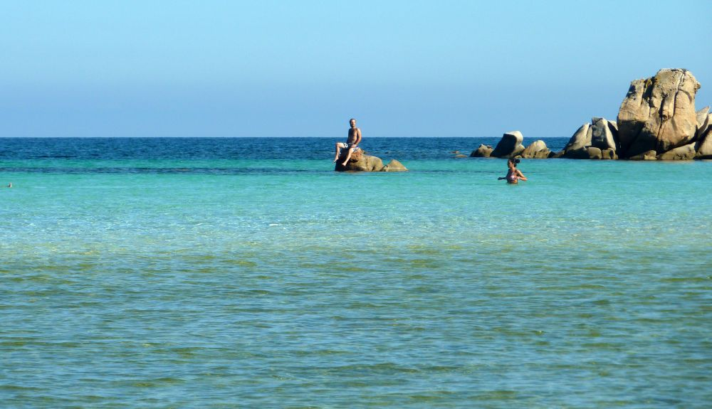 Türkises Meer auf Sardinien