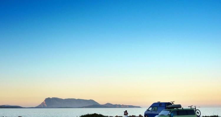 Wildcamping am Strand von Sardinien