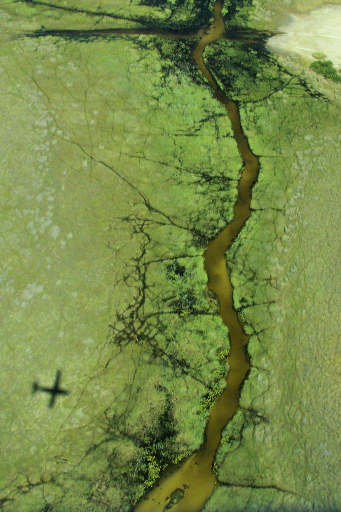 _Flug_Okavango_Delta_Fluesse