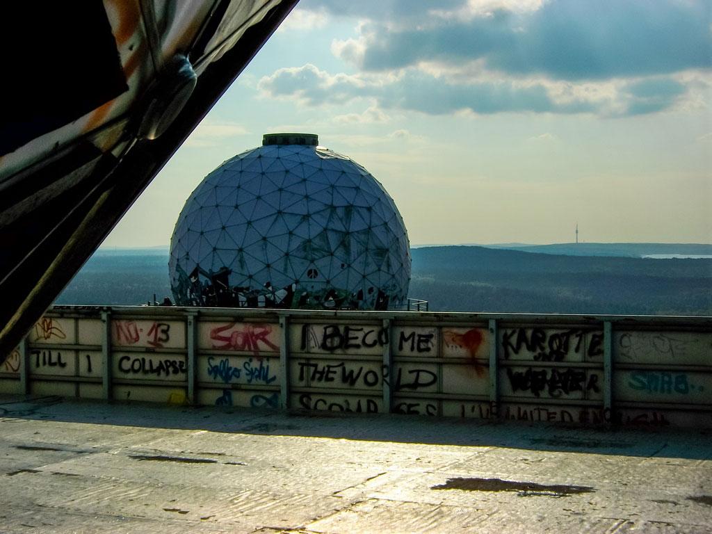 Die Kuppeln der Abhörstation Teufelsberg