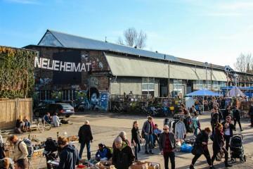 Die Neue Heimat Berlin auf dem RAW Gelände