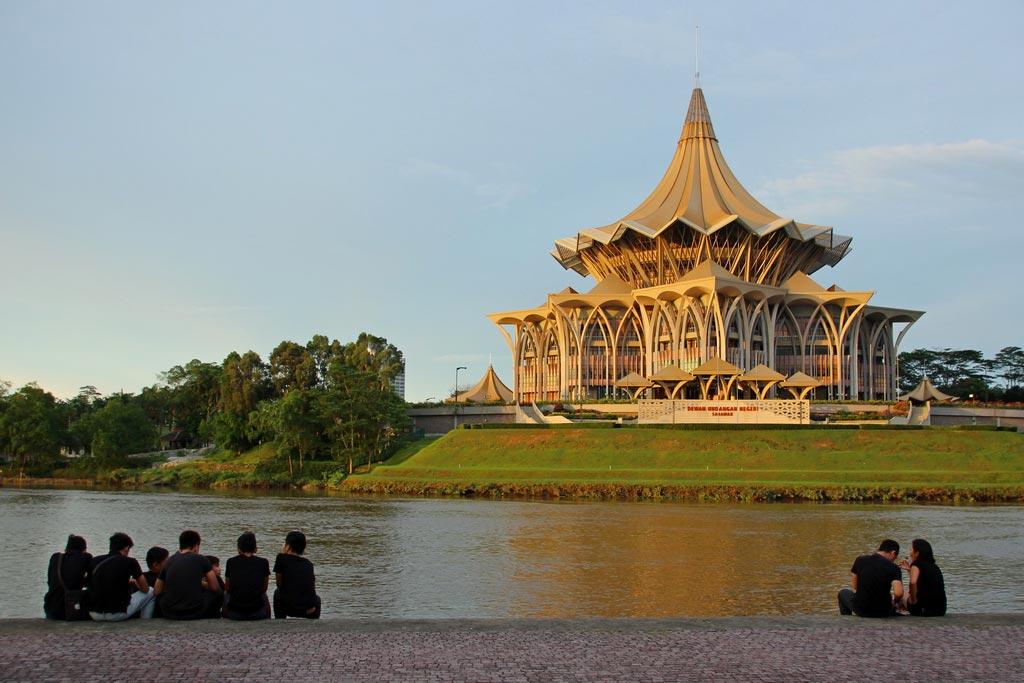 Kuching auf  Borneo