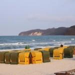 Strand in Binz auf Rügen
