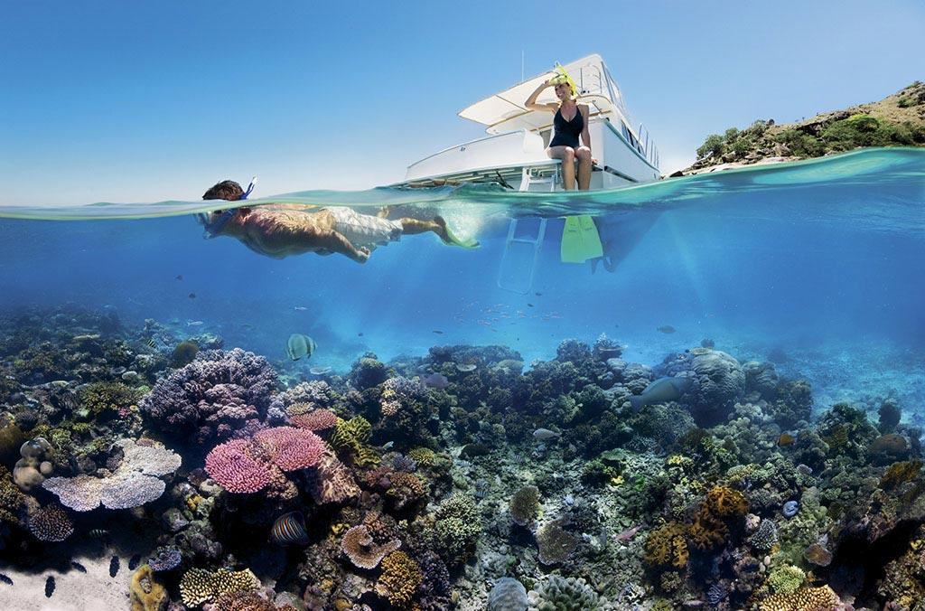 Seitdem der Massentourismus eingeschränkt wurde, erholen sich die Riffe von Sipadan