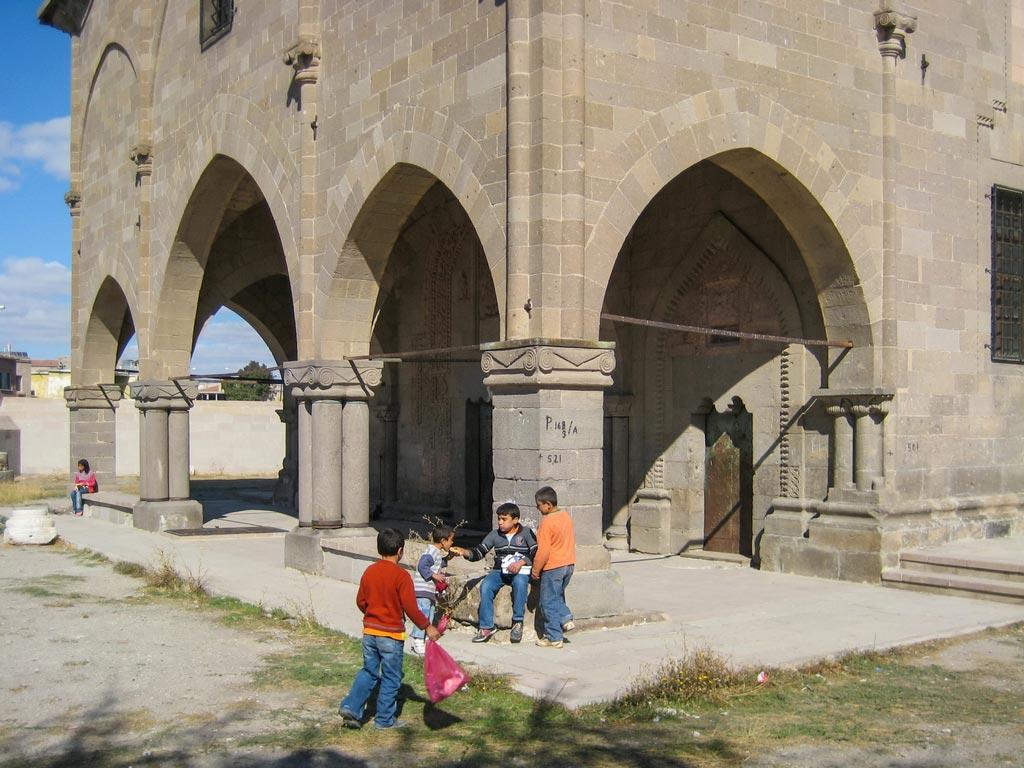 In Derinkuyu in Kappdokien gibt es einige verlassene Kirchen