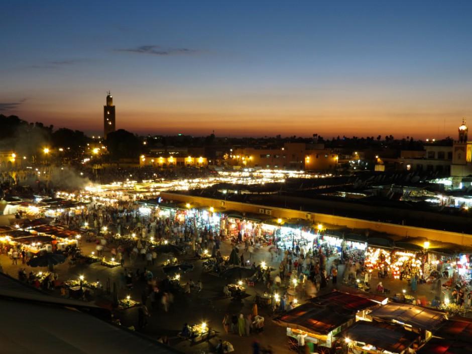 Djemaa el Fnaa in Marrakesch