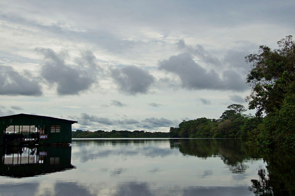 Reiseblogger Puriy unterwegs am Amazonas