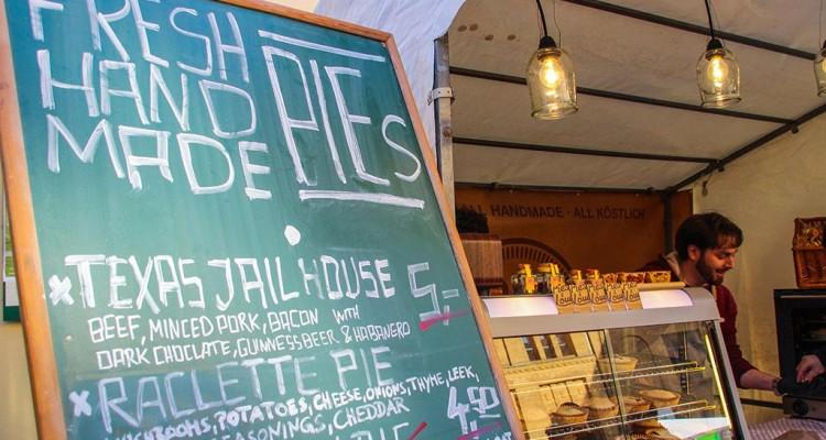 Streetfood auf Achse in der Kulturbrauerei