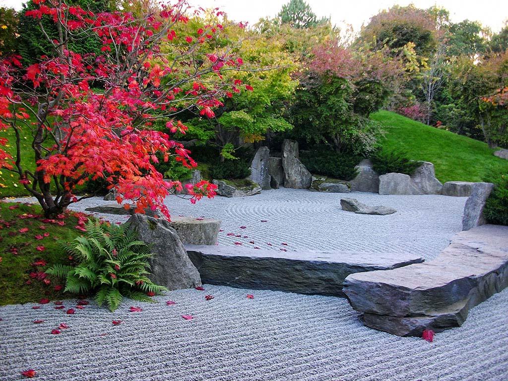 Japanischer Garten in der Gärten der Welt