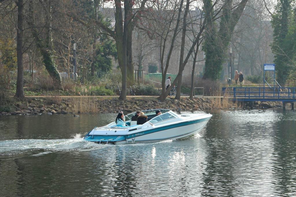 Boot auf der Havel
