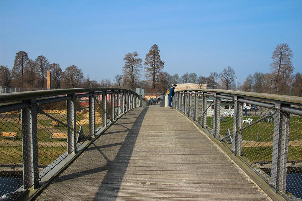 Brücke zur Dominsel in Brandenburg an der Havel