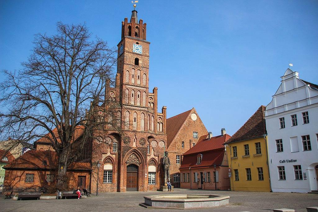 Das Rathaus von Brandenburg an der Havel