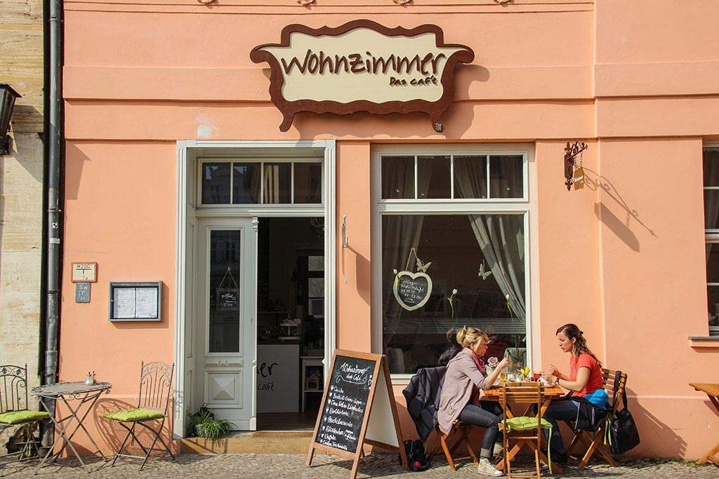 Das Wohnzimmer Café in Brandenburg an der Havel