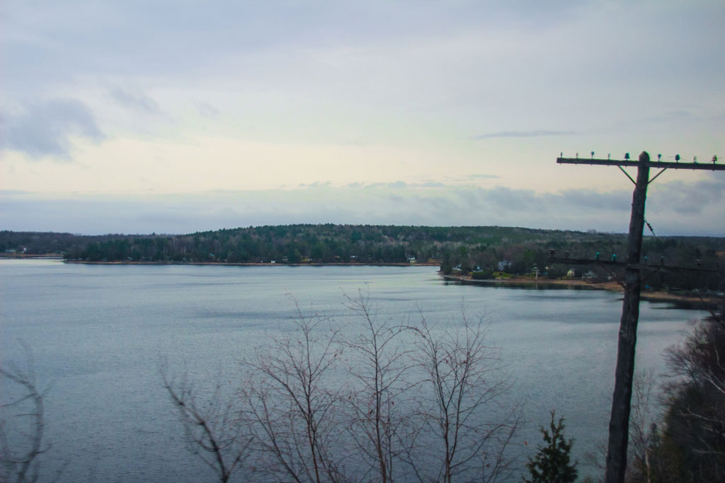 Kanadische Seenlandschaft