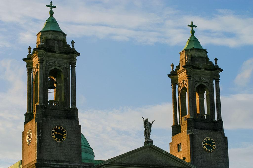 Das Rathaus von Athlone in Irland