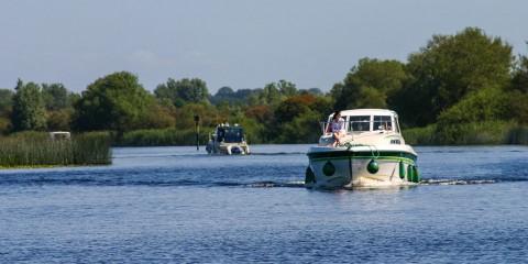 Eine Tour mit dem Hausboot über den Shannon