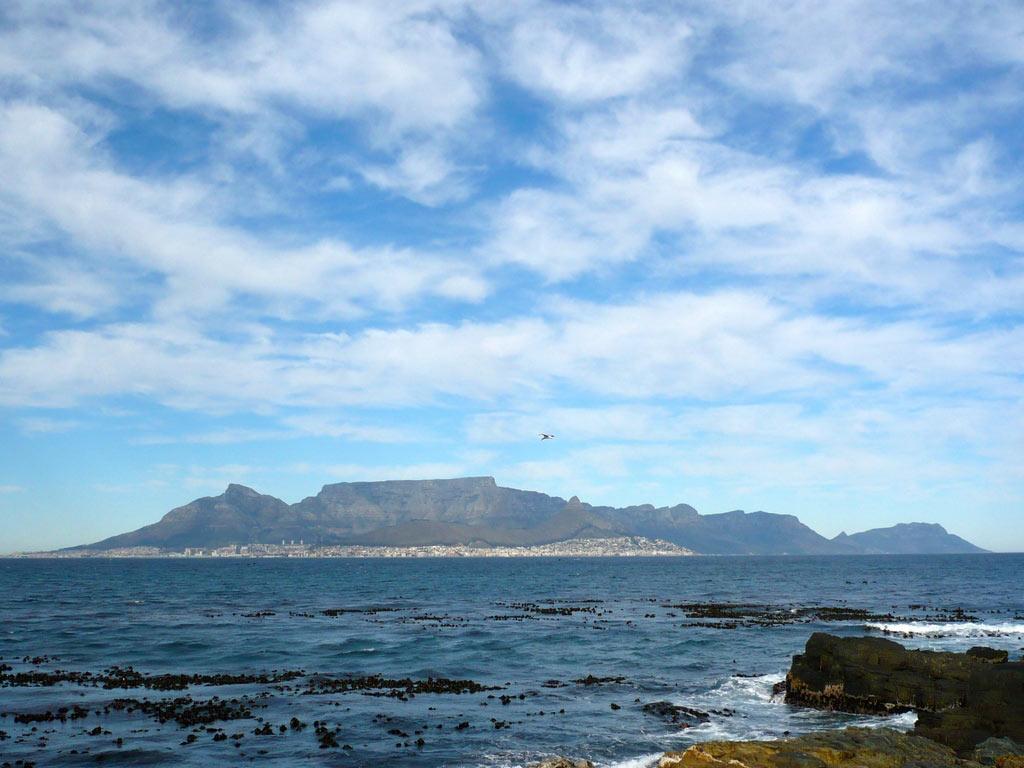 Der Strand in Kapstadt, Südafrika