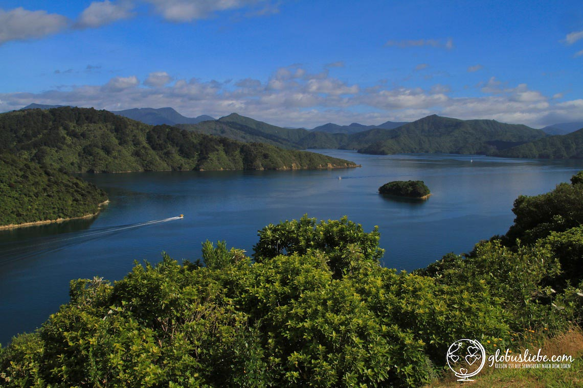 Seen und Berge in Neuseeland