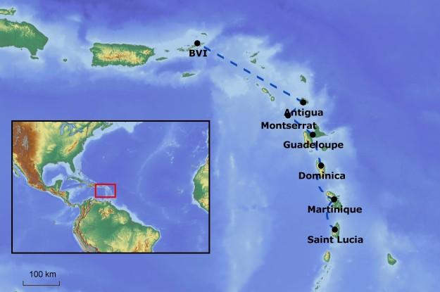 Die Karibik-Etappe