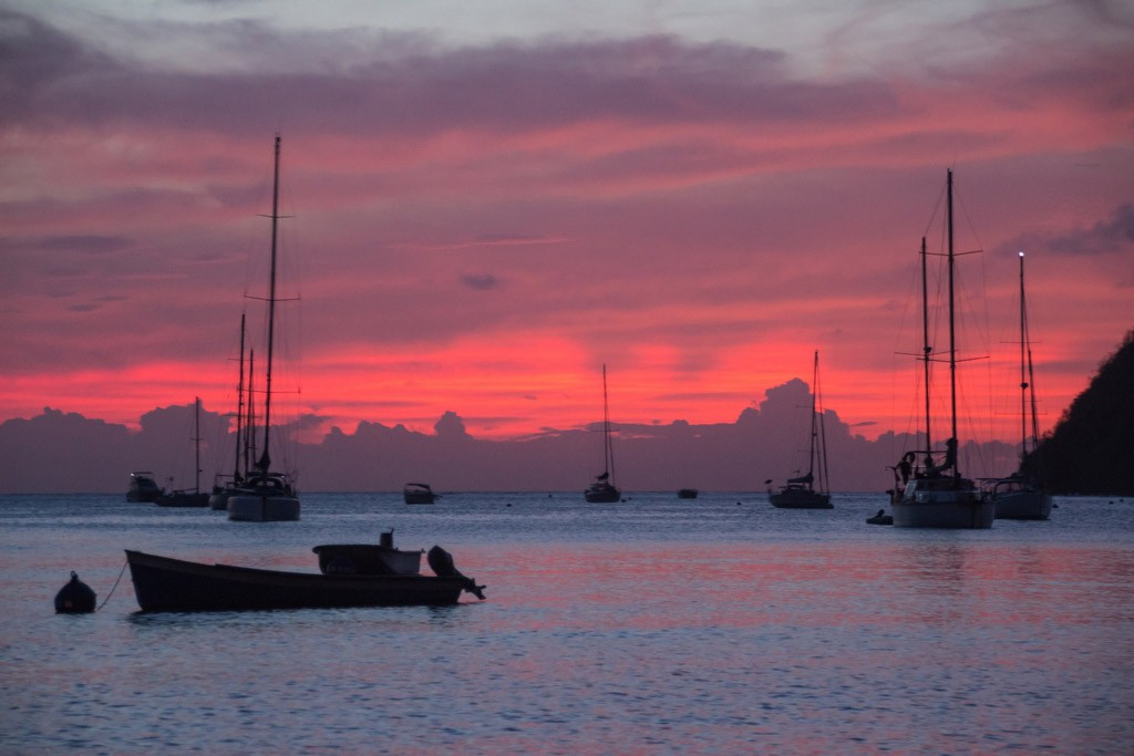 Bucht in der Grande Anse auf Martinique