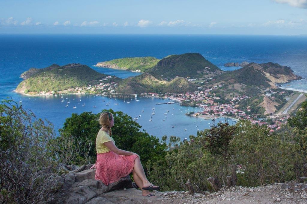 Blick auf Terre de Haut, Isle de Saintes