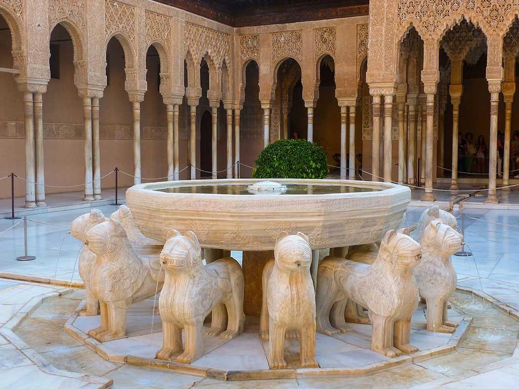 Löwenhof in der Alhambra