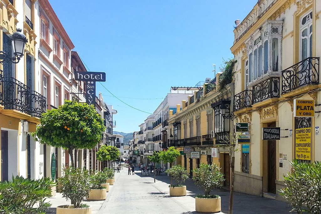 Puerto Santa Maria in Andalusien