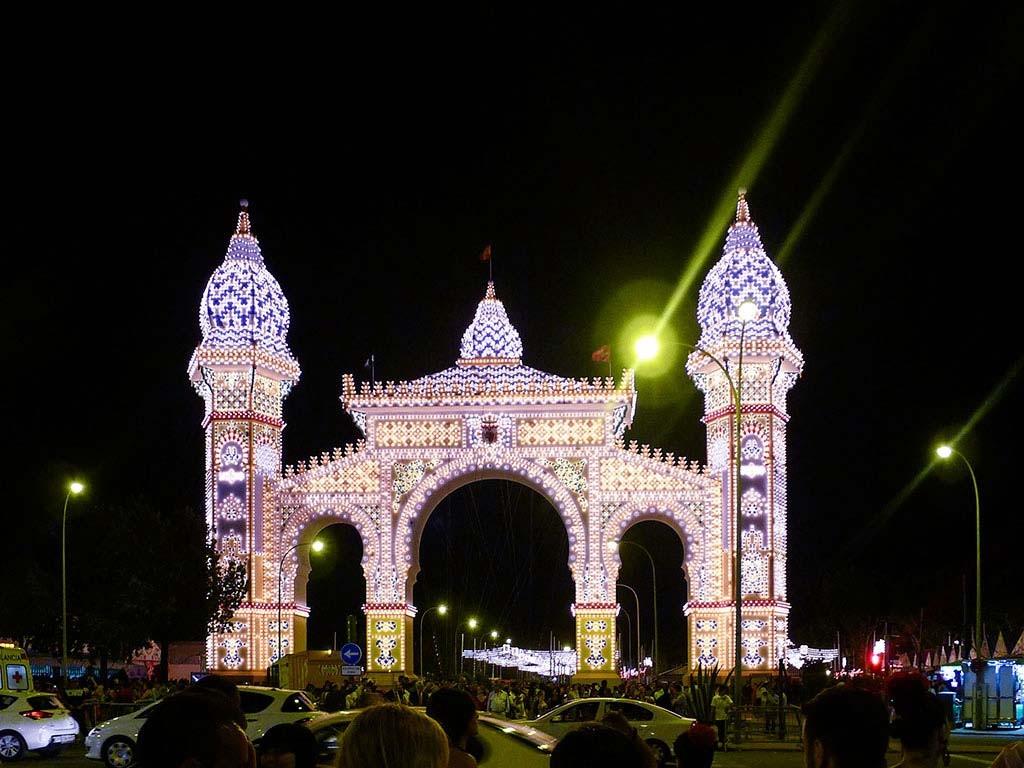 Tor zur Feria de Abril in Sevilla