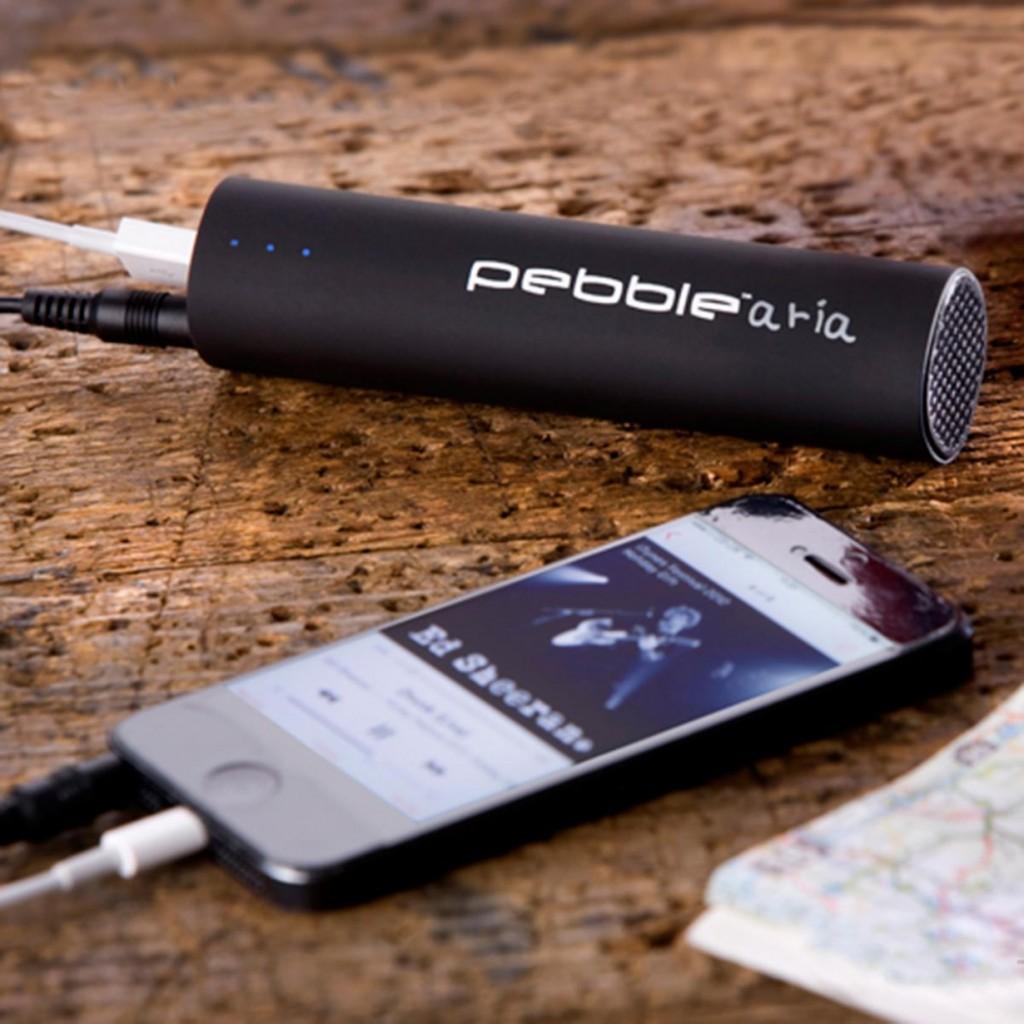 Mobiler Notfallakku mit Lautsprecher