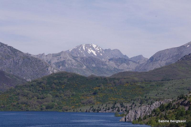 Berge und Seen im Nordwesten Spaniens