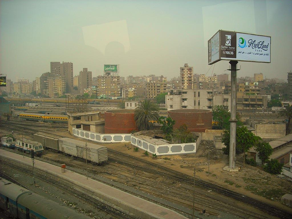 Wohnblöcke in Kairo