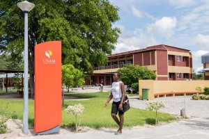 Campus der UNAM Namibia