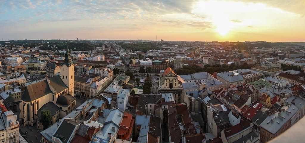Panorama von Lviv