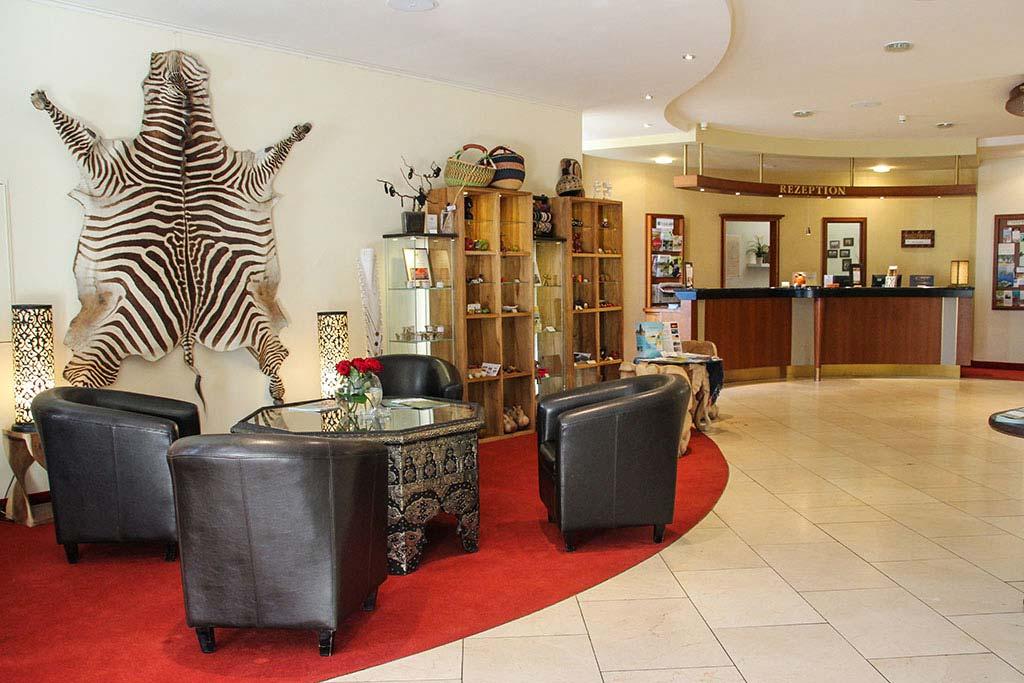 Lobby des Sunderland Hotels