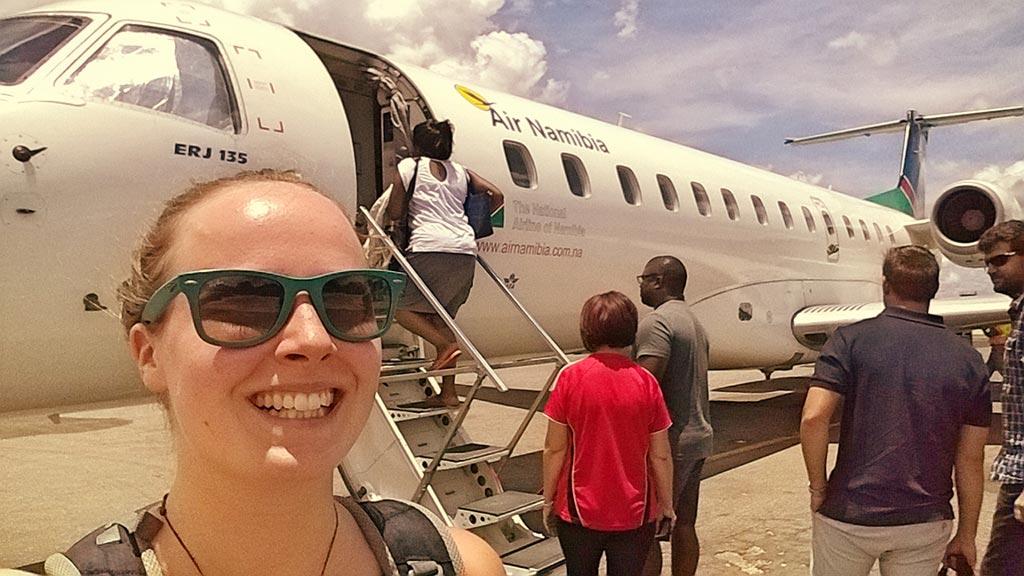 Flug von Katima Mulilo nach Windhuk