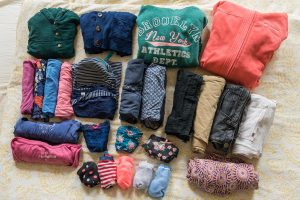 Packliste Schottland Kleidung