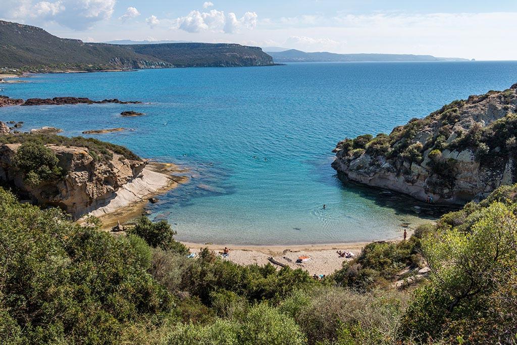 Spiaggia Compoltitu auf Sardinien